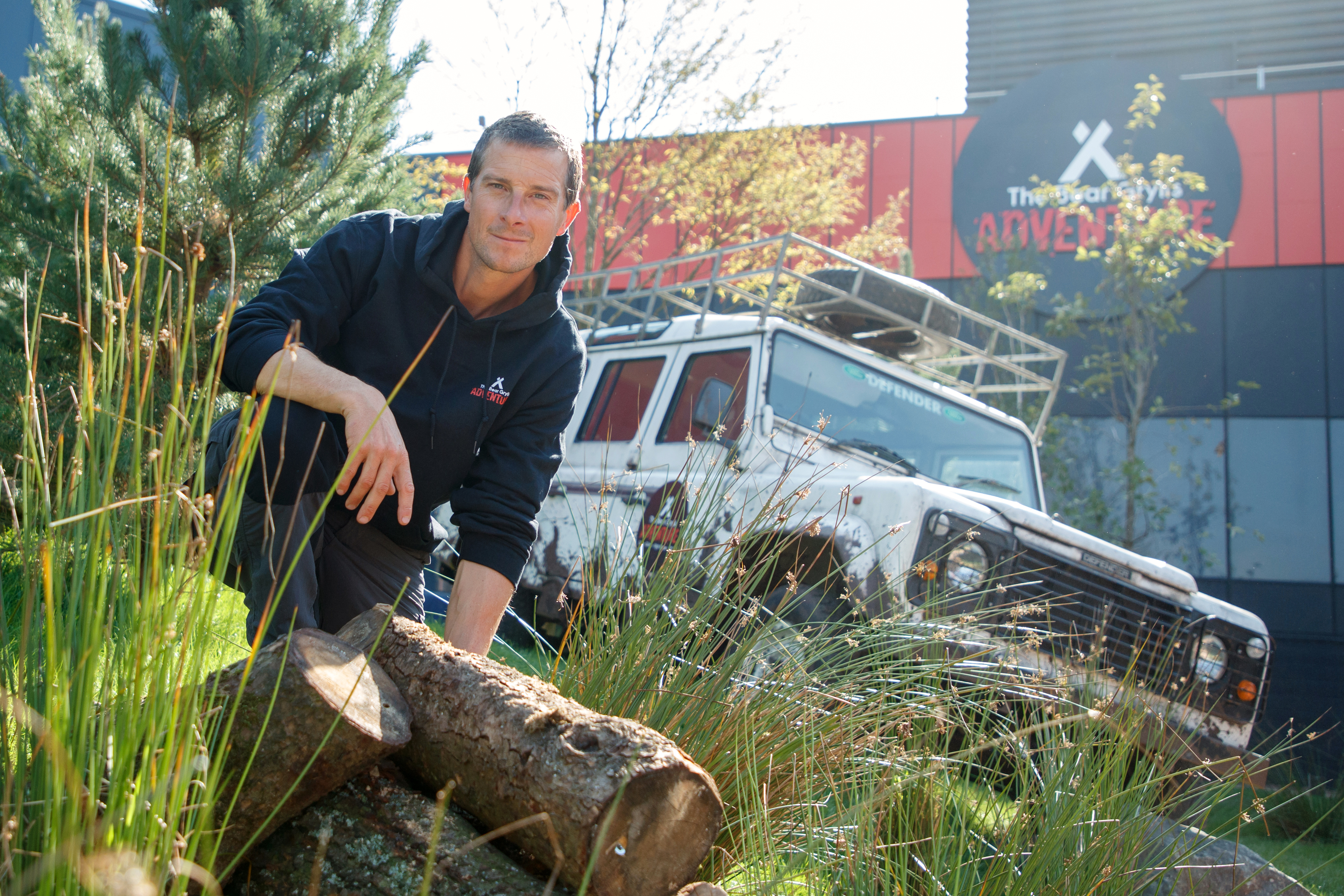 THE BEAR GRYLLS ADVENTURE LAUNCH