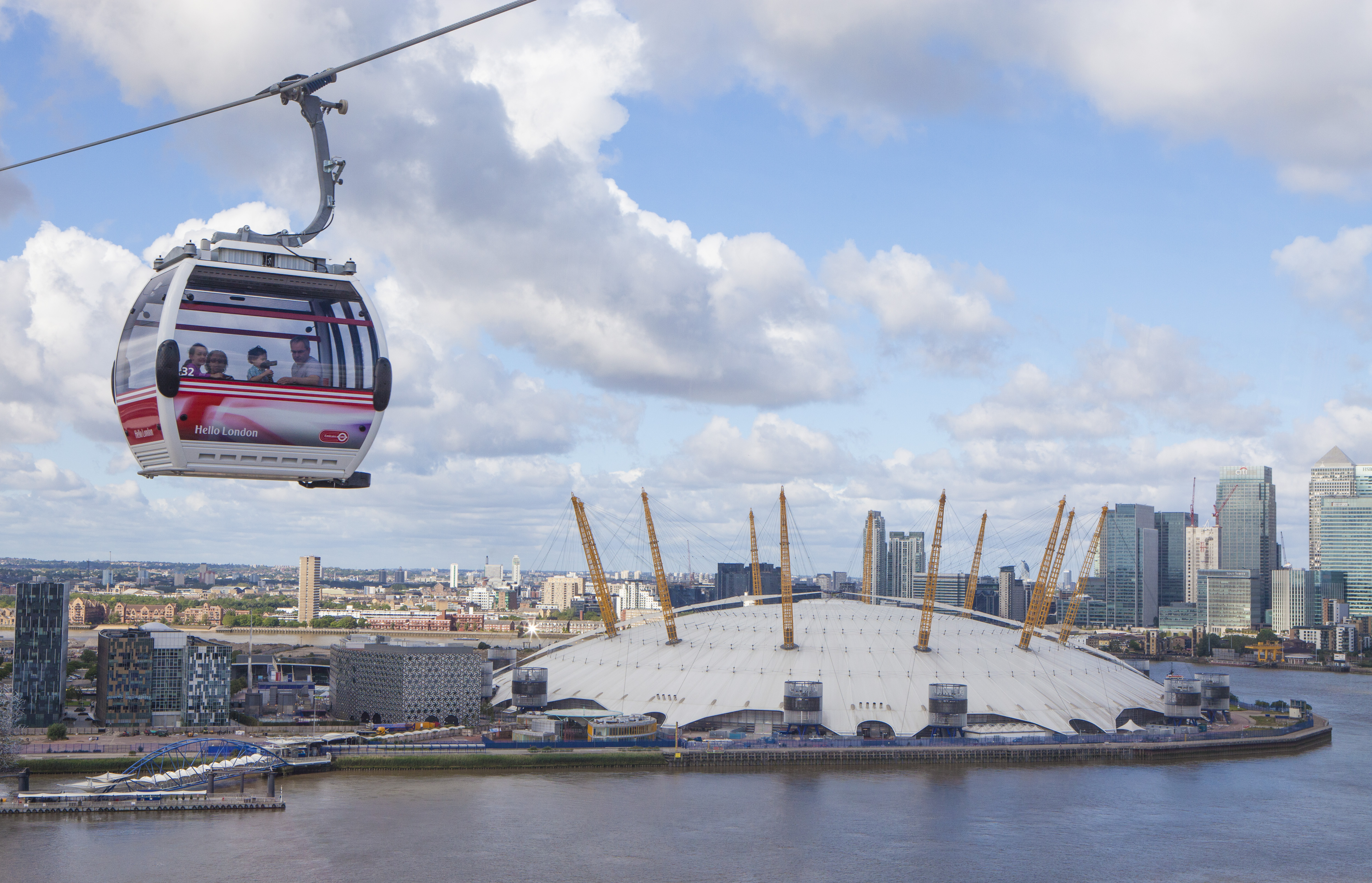 The Emirates Airline, Cable Car