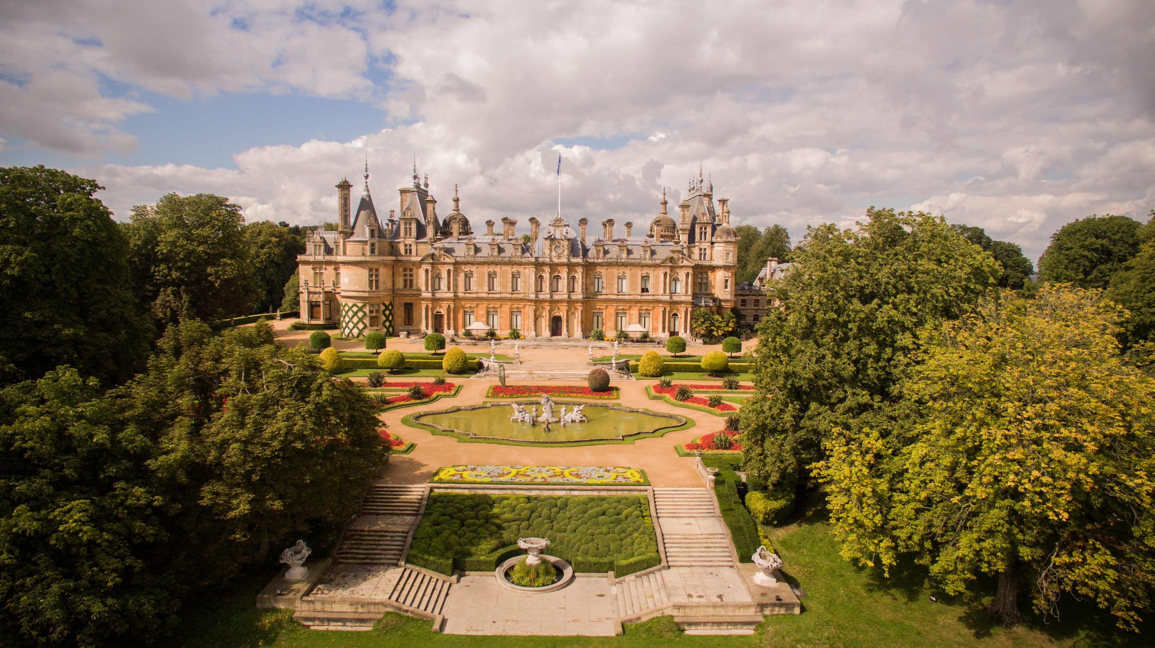 South Front , Waddesdon Manor. Photo Studio 8 © National Trust, Waddesdon Manor