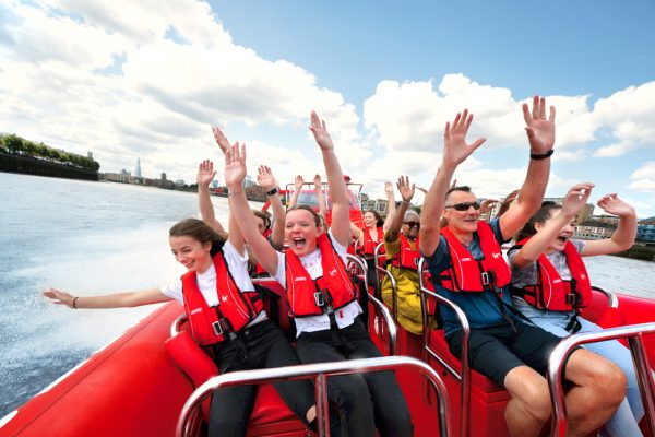 Thames Rockets Speedboat Experience